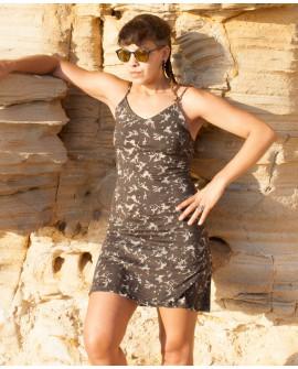 Summer dress - cotton-lycra (0049)