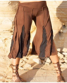 Short flare trousers - lycra (0041)