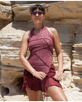 Convertible skirt - adjustable length, lycra (0050)