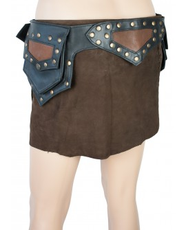 Festival utility belt - leather (0024)