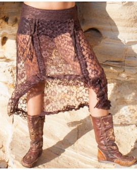 EarthyWear - Multiway skirt (lace). View 2