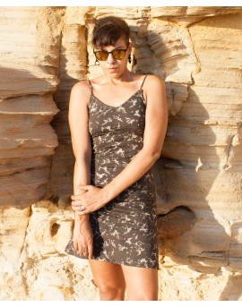 EarthyWear - summer A-line dress (cotton, lycra)