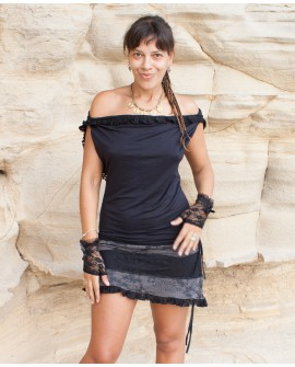 Open back dress - lycra (0048)