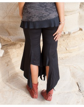 EarthyWear - boho pants (lycra). Back view