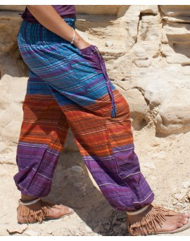 Hippie trousers - cotton (0066)