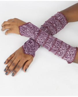 Fairy sleeves / gloves made from burnout lycra. Shine with these gloves next time you go out!!!