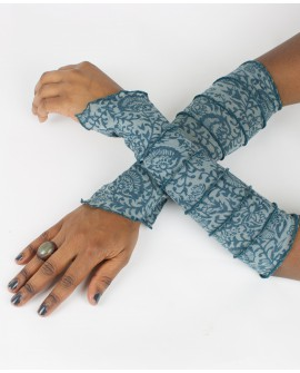 Amazing patterns. EarthyWear - fairy gloves, party sleeves