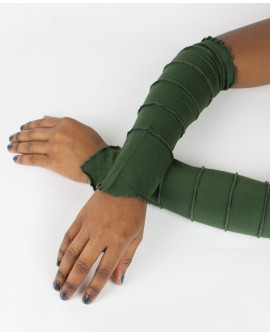 Fairy sleeves / gloves made from plain lycra. Shine with these gloves next time you go out!!! Green colour.