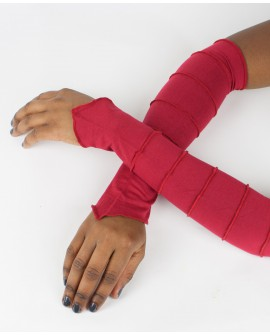 EarthyWear - fairy gloves, party sleeves (plain lycra)