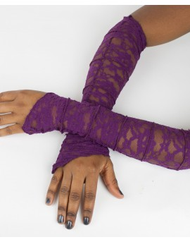 Fairy sleeves / gloves made from lace. Look sexy next time you go out!!! Amazing patterns.