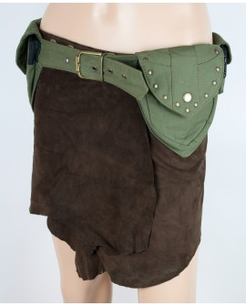 Steampunk utility belt - canvas (0001)