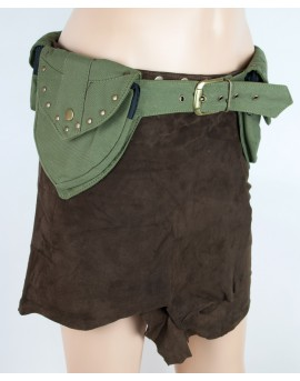 EarthyWear - Steampunk pocket belt (canvas)
