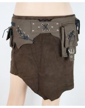 Non-leather, burning man pocket belt.