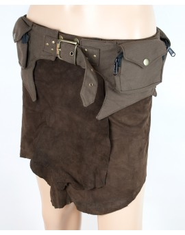 Pocket belt. Perfect for travelling and festivals. Steampunk design.