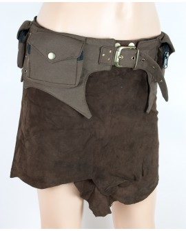Burning man pocket belt - canvas (0008)