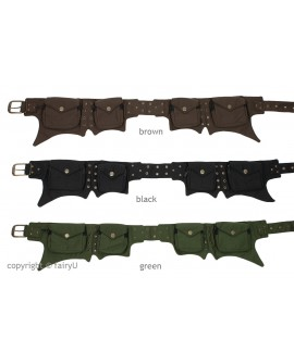 EarthyWear - vegan utility belt (canvas)