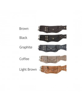 EarthyWear - leather utility belt - available colours