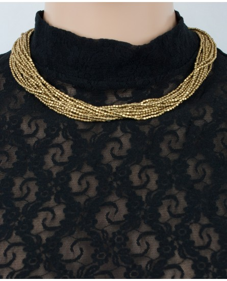 Brass necklace (0008)