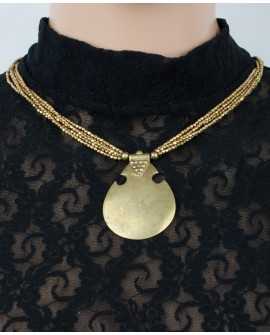Brass necklace (0020)