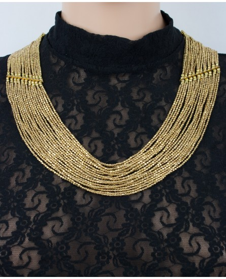 Brass necklace (0009)