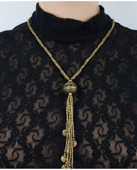 Brass necklace (0015)