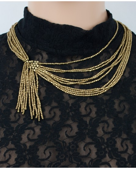 Brass necklace (0005)