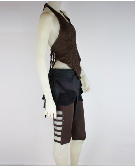 Steampunk leggings -  (0105)